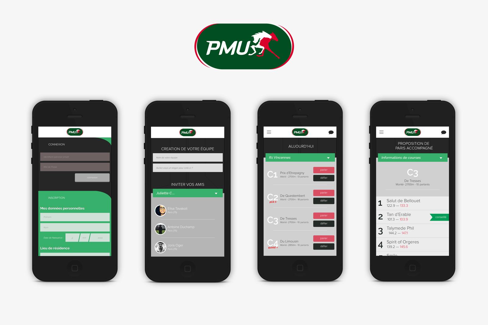 Application mobile PMU Android: pariez depuis votre smartphone