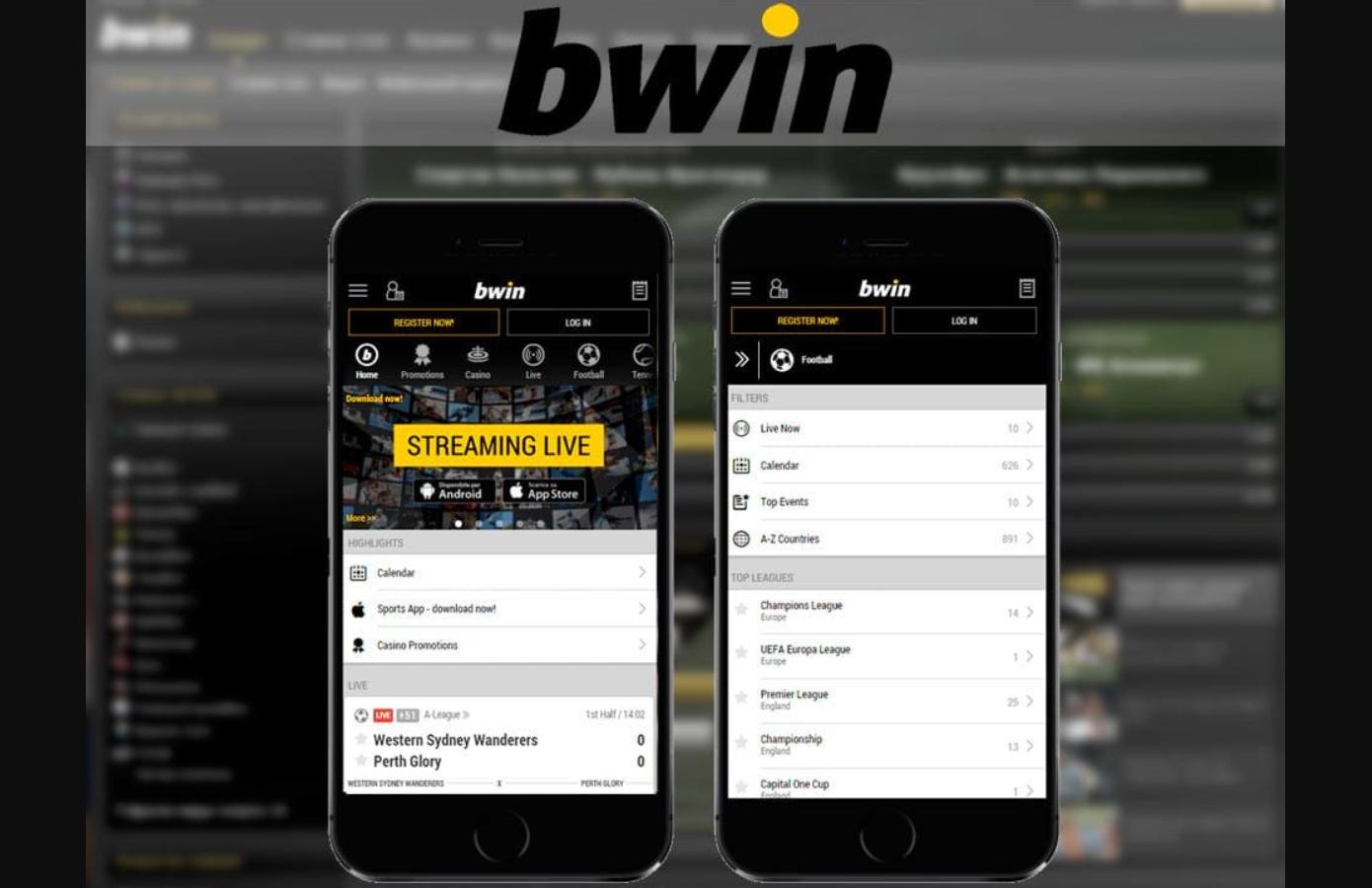 Il y en a deux – il me faut quelle Bwin mobile app?