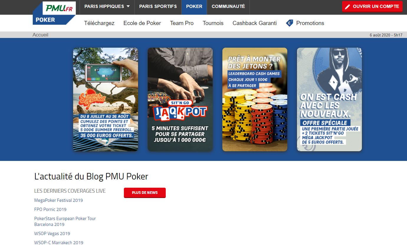 Options de paris de bookmaker PMU