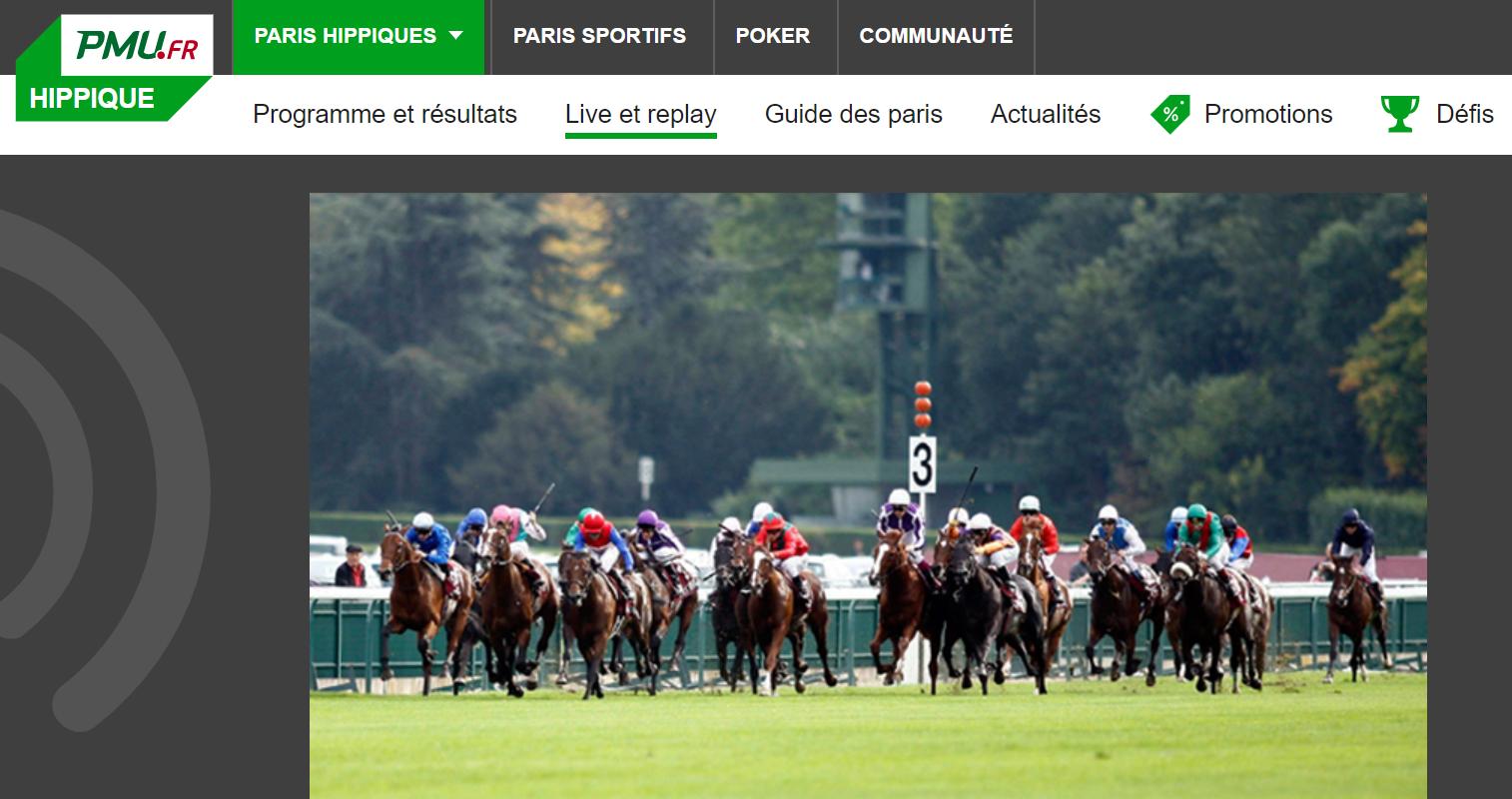 Les marchés de PMU Paris Sportifs en ligne