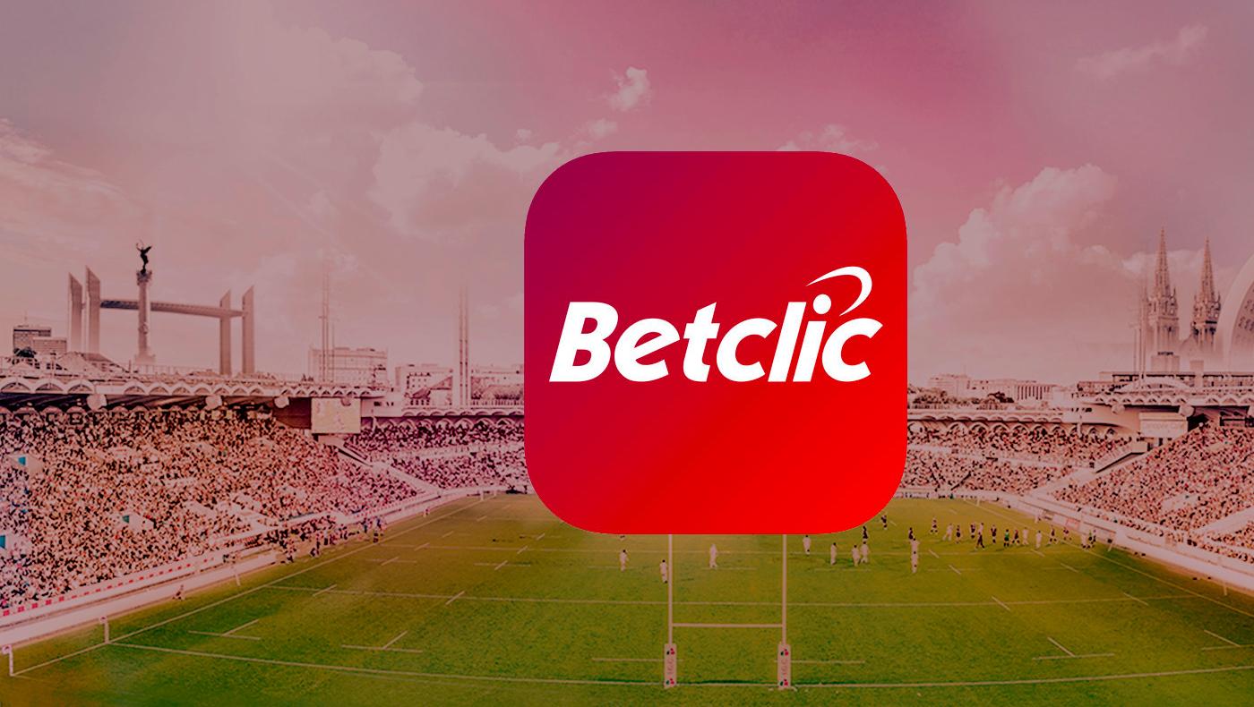 Interface utilisateur de Betclic Sport France